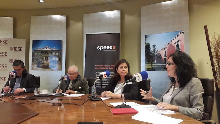 Francisco García Cabello, José Ramón Pin, Carolina Ubis y Elena Giménez