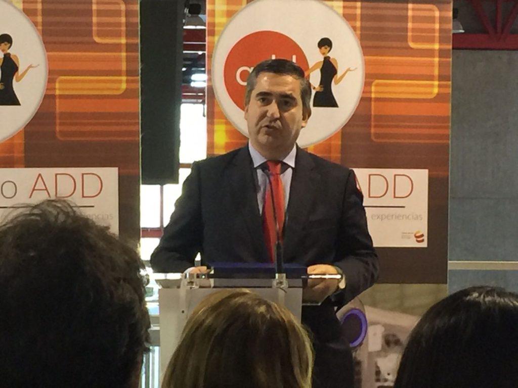 Francisco García Cabello recoge el premio Difusión a los impulsores de RRHH