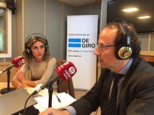 Ainhoa Herrero y Carlos de la Torre