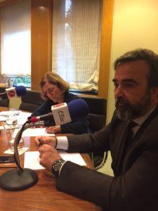 María Jesús Biechy y Enrique Saldaña