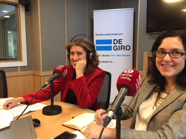María Sáchez-Arjona y Elena Giménez