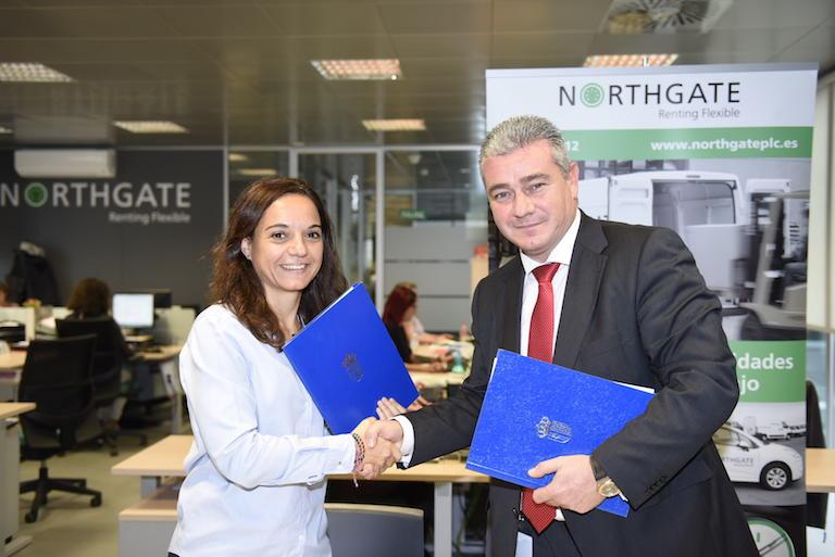 Sara Hernández y Sergio Ortega