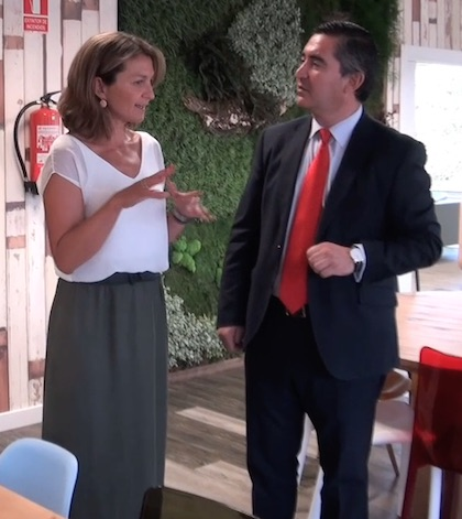 Ana Payo y Francisco García Cabello