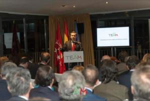 Francisco García Cabello, Presidente de TEAM
