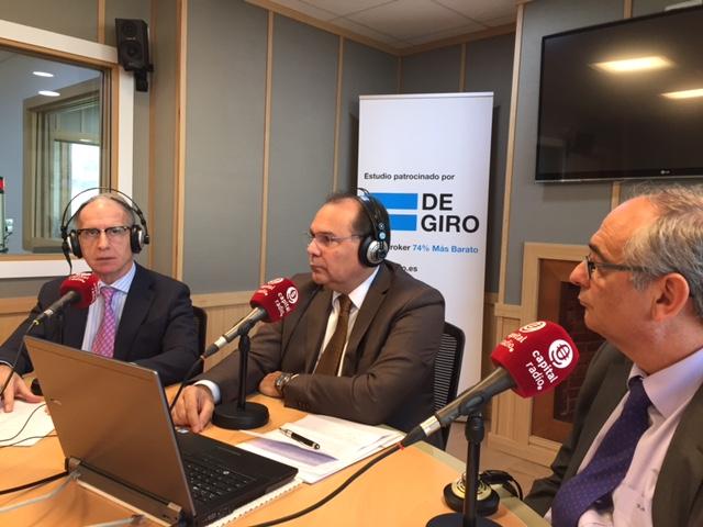 Miguel Ángel Vidal, Jorge Urribarri y Federico Montilla