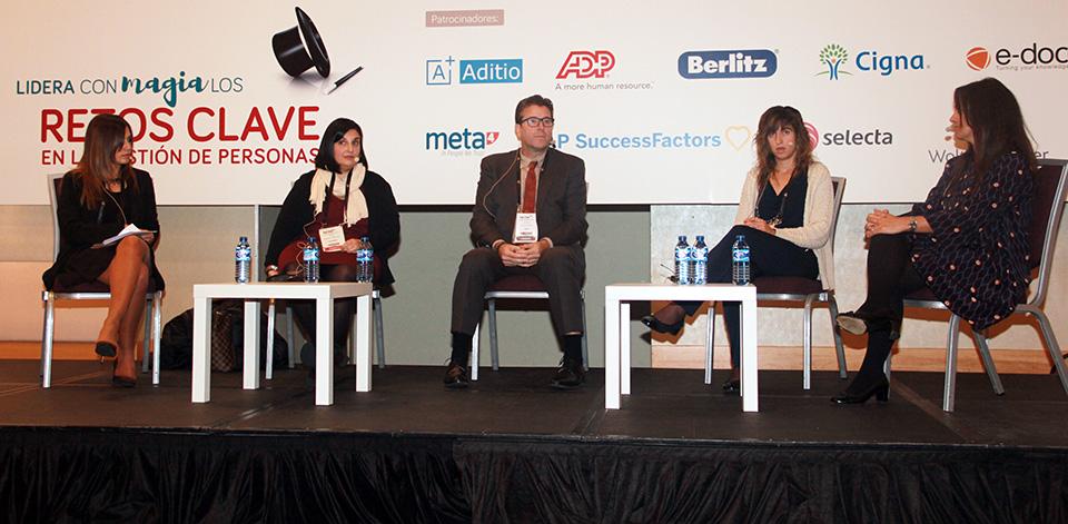 Patricia López, Silvia Ciurana, Eduard Pallejà i Sedó, Cristina García y Carolina Espuny