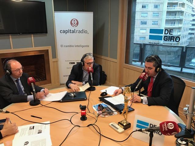 Alberto Ogando, Joaquín Rubio y Francisco García Cabello