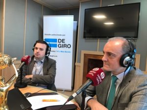 David Vivancos y Javier Kühnel