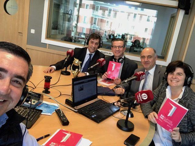 Francisco García Cabello, Luis Expósito, Enrique Rodríguez Balsa, Julio Rodríguez y Rosa Allegue