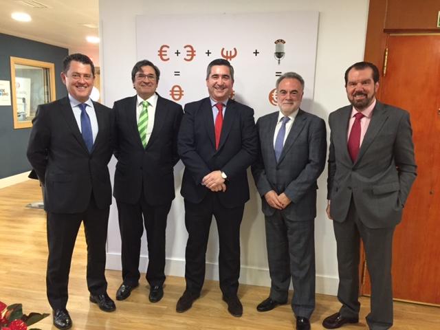 Juan Carlos Pérez Espinosa, Pedro García Cano, Francisco García Cabello, Pablo Gonzalo y Jesús Ortiz