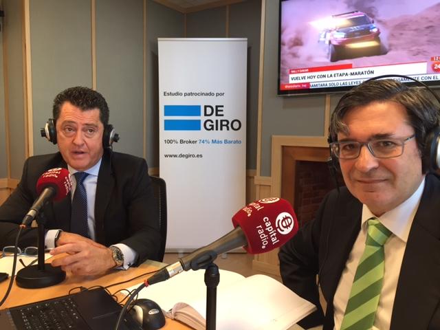 Juan Carlos Pérez Espinosa y Pedro García Cano