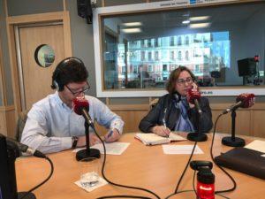 Emilio Miranda y Marta García