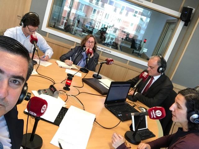 Francisco García Cabello, Emilio Miranda, Marta García, Javier Kühnel y María Orellana