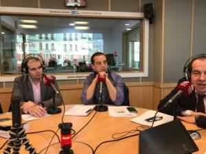 Javier Sánchez Reyes, Roberto Menéndez y Juan Carlos Cubeiro