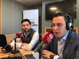 Jose Luis Estébanez y Juan Gracia