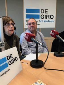 Juan Luis Rodríguez y Begoña Peña