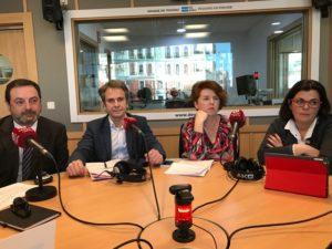 Miguel Vergamota, Fernando Torner, Mónica García y Marta García
