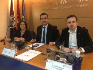 Paloma Llaneza, Francisco García Cabello y David Vivancos