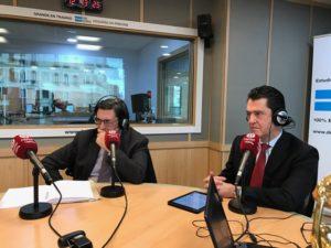 Pedro García Cano y Juan Carlos Pérez Espinosa
