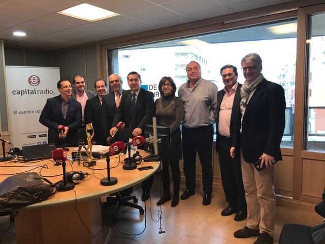 Roberto Menéndez, Javier Sánchez, Juan Carlos Cubeiro, Ignacio Babé, Francisco García Cabello, Begoña Peña, Juan Luis Rodríguez, Pedro García Cano y Alberto Peralta