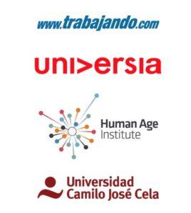 Trabajando, Universia, Human Age Institute y Universidad Camilo José Cela