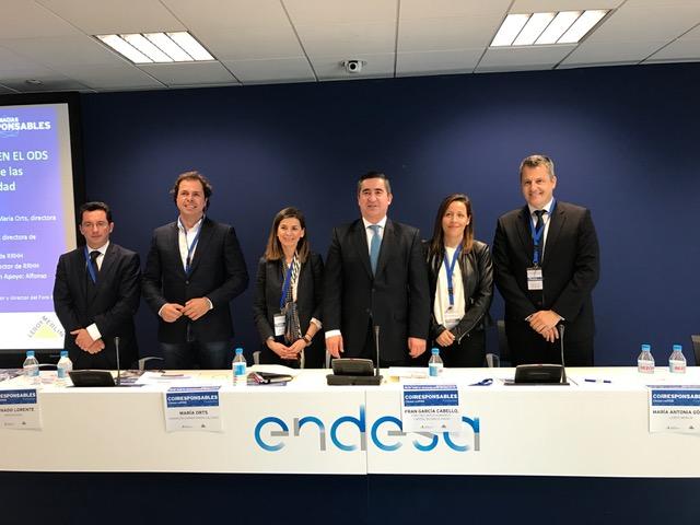 Alfonso Gutiérrez, Fernando Lorente, Maria Orts, Francisco García Cabello, María Antonia Gómez e Ignacio Rubial
