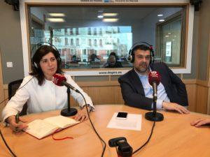 Beatriz Sánchez Guitián y Javier Martín de la Fuente