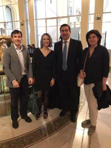 Carlos Olave, Patricia Ramínerz, Francisco García Cabello y Rosa Allegue