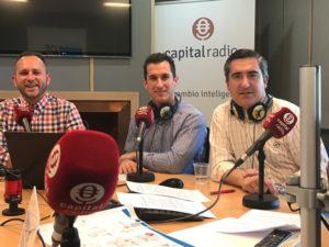 Eduardo Cabrera, Antonio López y Francisco García Cabello