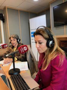 Eva Levy y Amparo Díaz-Llairó