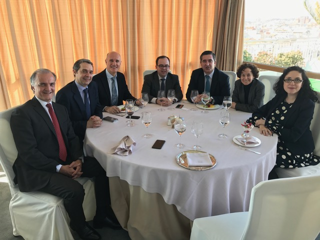 Javier Kühnel, José Manuel Correas, Luca Boer, José Luis Risco, Francisco García Cabello, Raquel Gil Fombellida y Elena Giménez