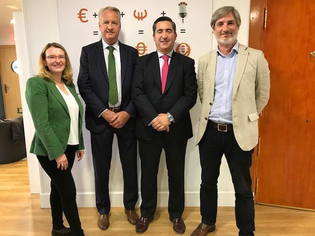 Arancha García, Peter Koster, Francisco García Cabello y Fernando Negueruela