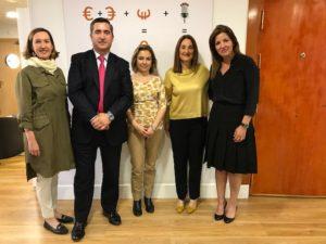 Cristina Rodríguez, Francisco García Cabello, Silvia Merino, Maria Eugenia Muguerza y Mar Romero