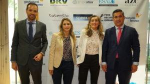 Javier Margalet, Maria Eugenia Castro, Remedios Miralles y Francisco García Cabello