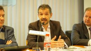 David Jiménez, Director Formación y Desarrollo en Telefónica, toma la palabra