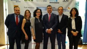 El equipo de Speexx con Francisco García Cabello