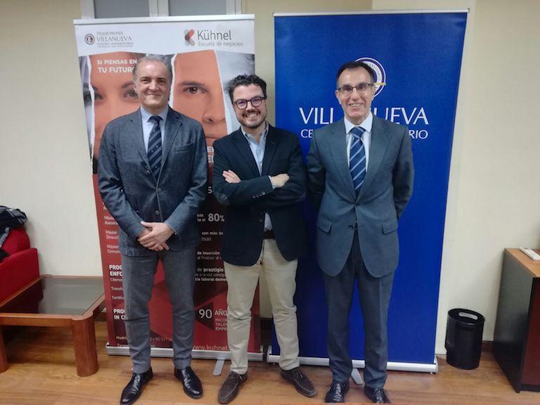Javier Kühnel, Fernando López y Lorenzo Bermejo