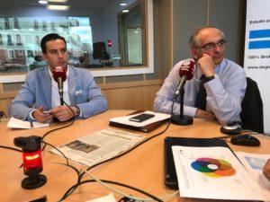 Juan Gracia y Federico Montilla