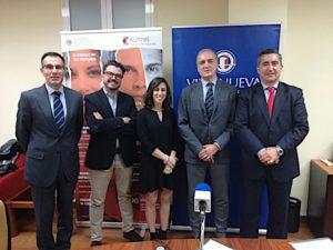 Lorenzo Bermejo, Fernando López, Alejandra Gutierrez, Javier Kühnel y Francisco García Cabello