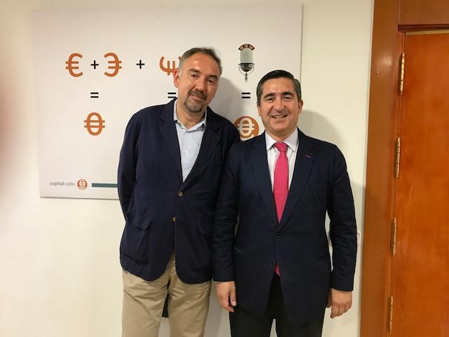 Moisés Arrimadas y Francisco García Cabello