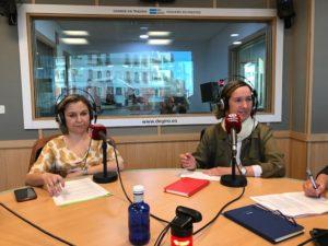 Silvia Merino y Cristina Rodríguez