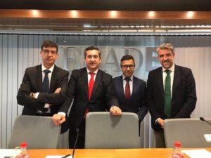 Joan Piñol, Francisco García Cabello, Javier Formariz y Ángel Javier Vicente Pérez