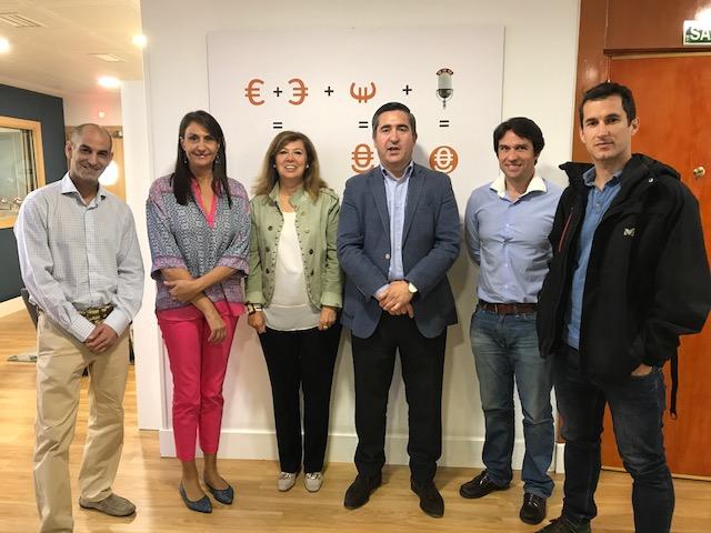 José Manuel Calvo, Elena Cascante, Ángeles Alcázar, Francisco García Cabello, Alejandro Uceda y Antonio López