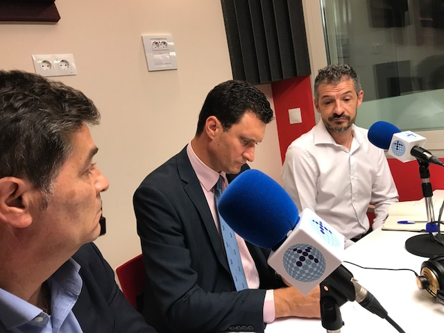 Luis Expósito, Director de RRHH y Servicios de Mediaset, Francisco Marín, Director PwC Tax & Legal Services, y David Jiménez, Director de Formación y Desarrollo en Telefónica