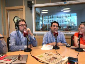 Ricardo Gómez, Carlos Hidalgo y Marta García