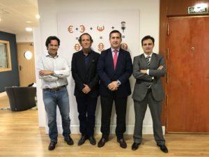 Alejandro Uceda, Jaime Peidro, Francisco García Cabello y José Luis Ausín