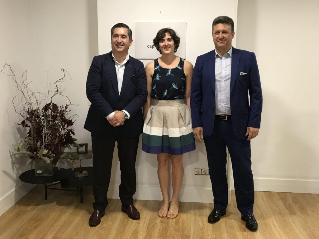 Francisco García Cabello, Teresa Domínguez y Javier Vega