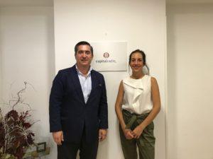 Francisco García Cabello y María Briones