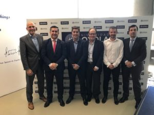 Lorenzo Rivares, Francisco García Cabello, Luis Expósito, Carlos Cid, David Jiménez y José Pérez Fresquet