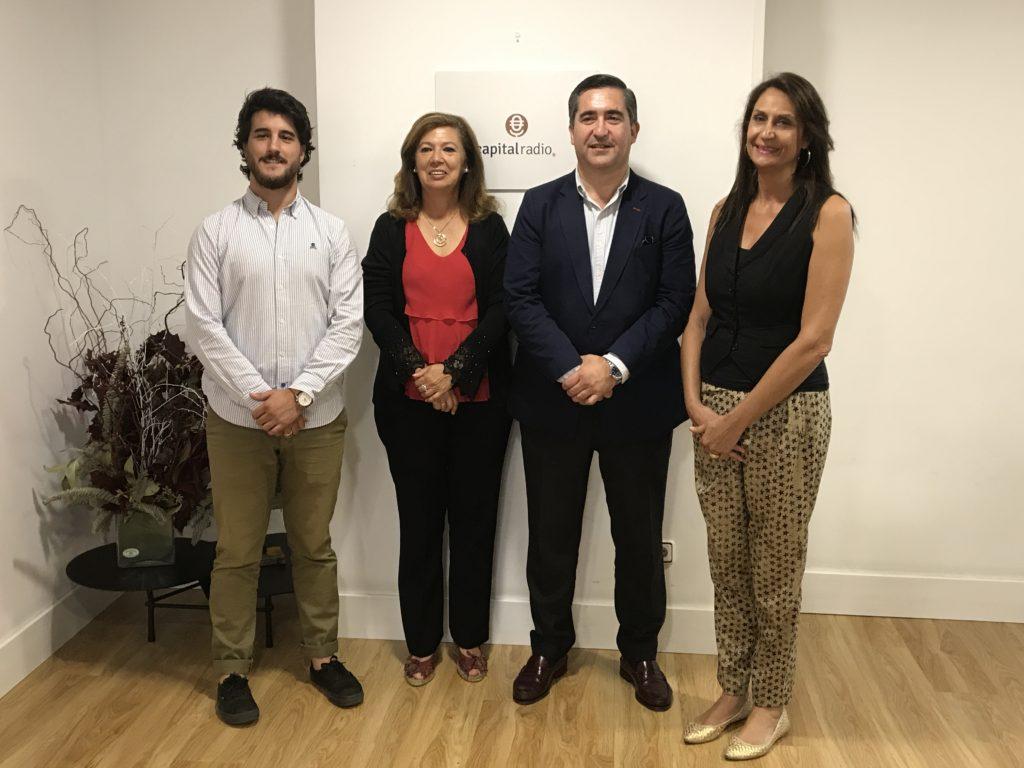 Javier Sánchez, Ángeles Alcázar, Francisco García Cabello y Elena Cascante
